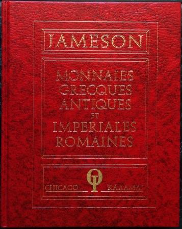 Ancient Coins - Jameson: Monnaies Grecques Antiques, Monnaies Imperiales Romaines, 4 volumes