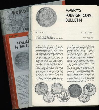 Ancient Coins - Amery's Foreign Coin Bulletin/ World Coin Bulletin