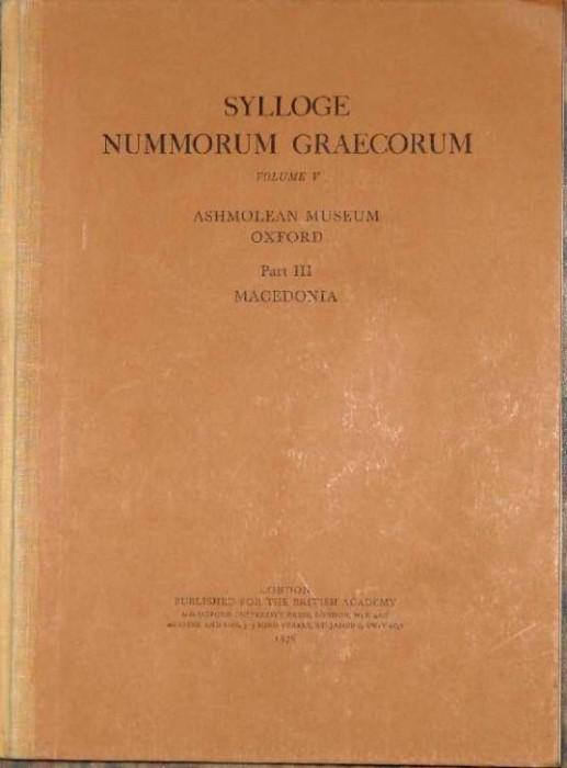 Ancient Coins - SNG British Series  5. Ashmolean Museum. Part III. Macedonia