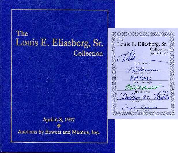 Ancient Coins - Bowers & Merena: LOUIS ELIASBERG COLLECTION, hardbound editions, parts 1 & 2