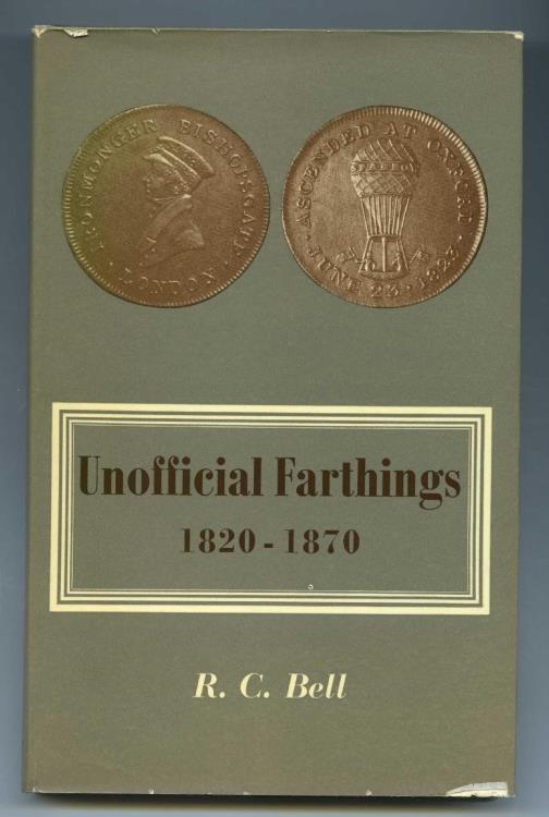 World Coins - Bell: Unofficial Farthings 1820-1870