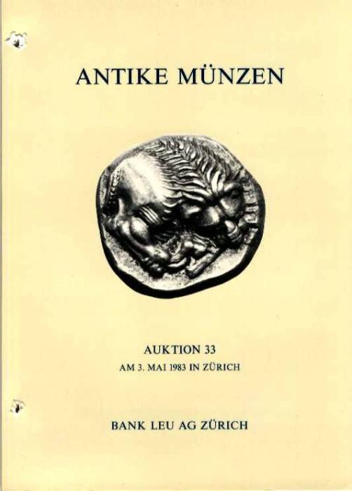 Ancient Coins - Bank Leu 33. ANTIKE MUNZEN. Greek, Roman, Celtic