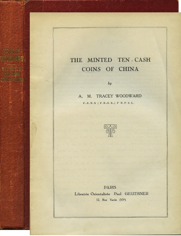 World Coins - Woodward: The Minted Ten-Cash Coins of China