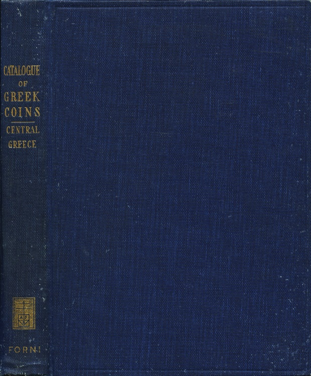 Ancient Coins - BMC Greek  8. Catalogue of the Greek Coins in the British Museum, Central Greece