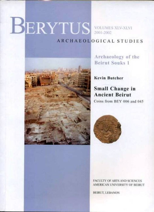 Ancient Coins - Butcher: Small Change in Ancient Beirut