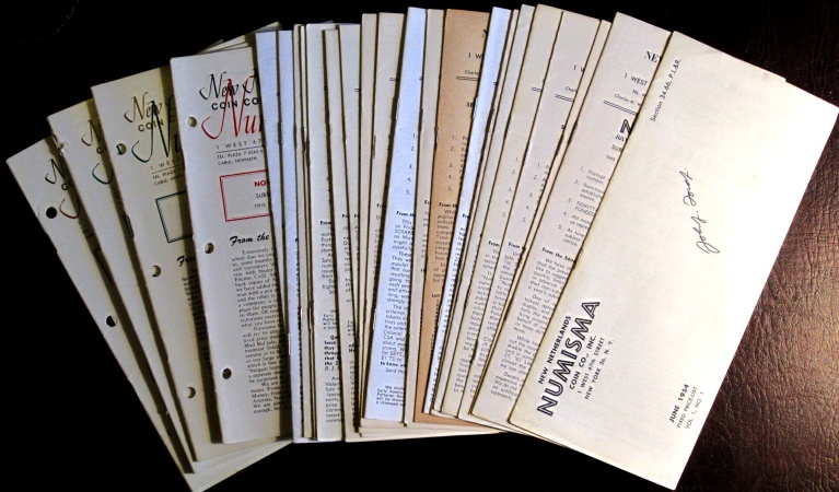 US Coins - New Netherlands Numisma, 26 of 27 issues. Signed by John Ford