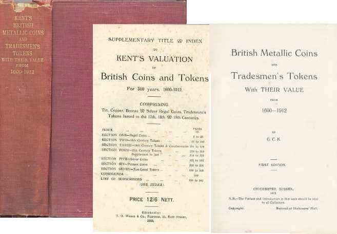 Ancient Coins - BRITISH METALLIC COINS AND TRADESMEN'S TOKENS WITH THEIR VALUE FROM 1600-1912,