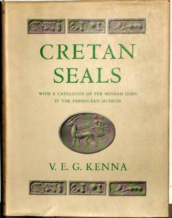Ancient Coins - Kenna: Cretan Seals. With a Catalogue of the Minoan Gems in the Ashmolean Museum
