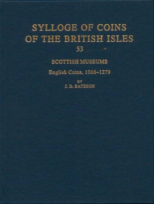 World Coins - SCBI 53. Scottish Museums. English Coins, 1066-1279