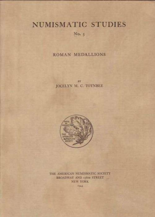 Ancient Coins - Toynbee: ROMAN MEDALLIONS, original edition