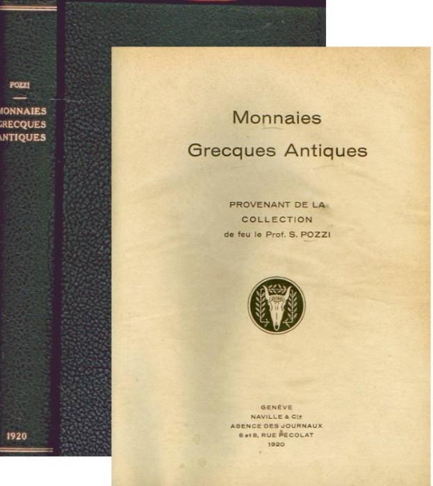 Ancient Coins - Ars Classica I. Monnaies grecques provenant de la collection de feu le prof S Pozzi
