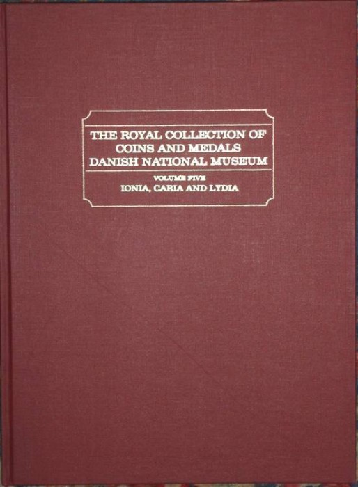 Ancient Coins - SNG Royal Collection Copenhagen. Volume 5. Ionia, Caria and Lydia. Reprint.