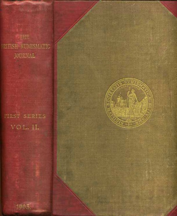 Ancient Coins - BRITISH NUMISMATIC JOURNAL 1905