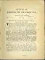 Ancient Coins - American Journal of Numismatics, 1911, Volume XLV