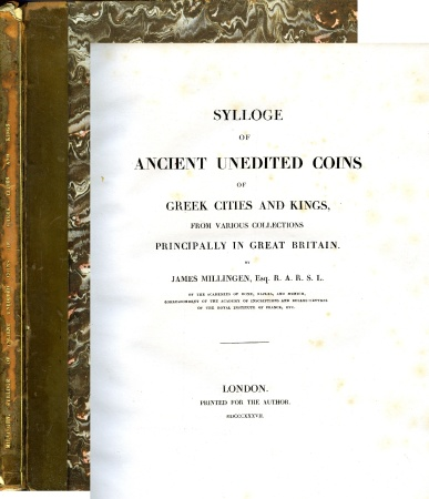 Ancient Coins - Millingen. Sylloge of Ancient Unedited Coins of Greek Cities and Kings from Various Collections Principally in Great Britain