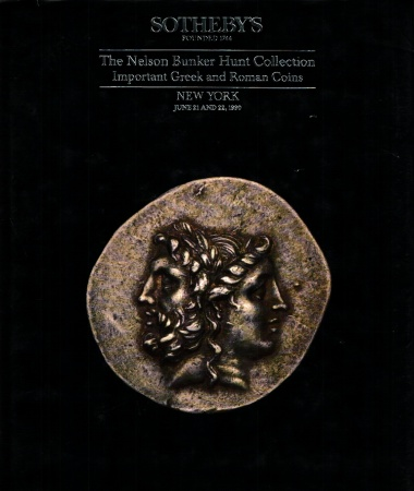 Ancient Coins - Sotheby's: The Nelson Bunker Hunt Collection, Important Greek and Roman Coins. II