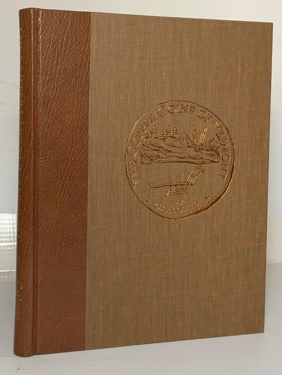 Ancient Coins - Carlotto: The Copper Coins of Vermont and Those Bearing the Vermont Name, deluxe leatherbound edition