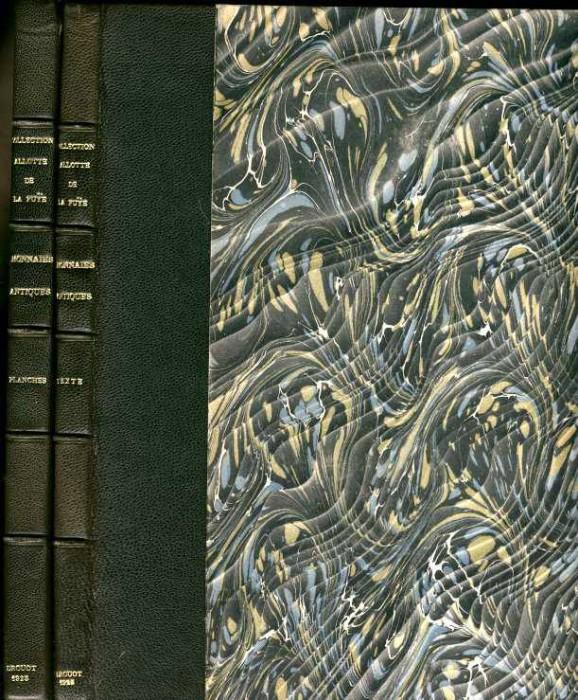 Ancient Coins - Florange & Ciani: Col. Allotte de la Fuye. Monnaies Grecques, Romaines, Byzantines, 2 parts, handsomely bound