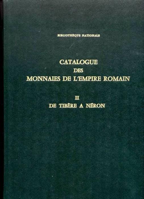 Ancient Coins - Giard: MONNAIES DE L'EMPIRE ROMAIN, Bibliotheque Nationale, VOL. II. De Tiberre a Neron