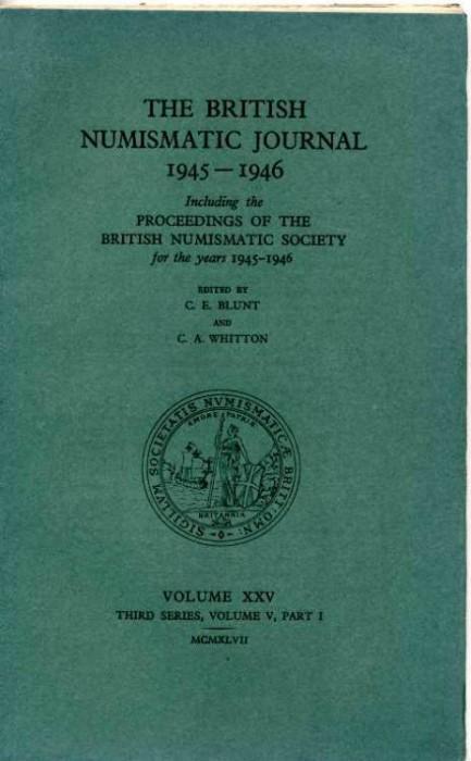 Ancient Coins - British Numismatic Journal 1945-1946