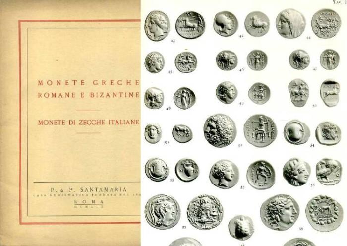 Ancient Coins - Santamaria sale. Monete Greche, Romane e Bizantine, 1959