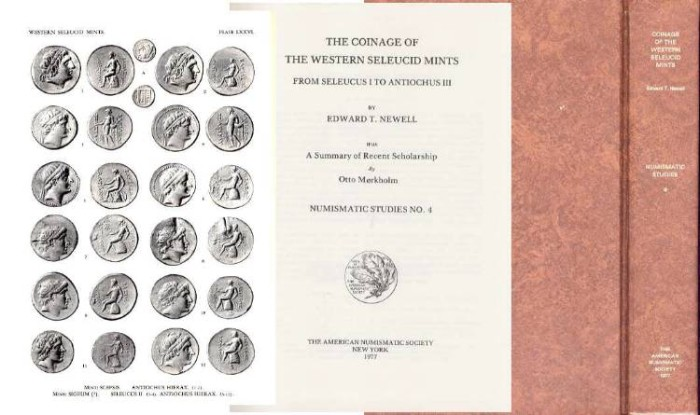 Ancient Coins - THE COINAGE OF THE WESTERN SELEUCID MINTS FROM SELEUCUS I TO ANTIOCHUS III WITH A SUMMARY OF RECENT SCHOLARSHIP