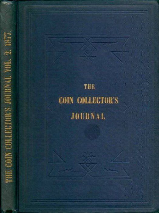 US Coins - Scott: The Coin Collector's Journal, Volume 2 (1877)