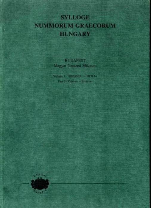 Ancient Coins - SNG Hungary, Volume 1 Hispania - Sicilia. Part 2, Calabria - Bruttium