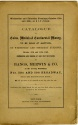 Us Coins - Bangs, Merwin & Co.: Catalogue of Coins, Medals and Continental Money