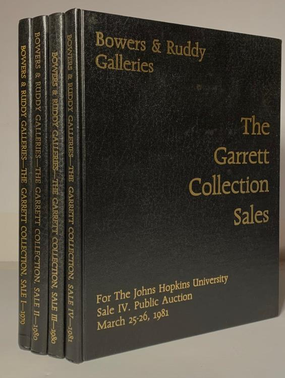 Ancient Coins - Bowers & Ruddy: The Garrett Sales, American Coins. Parts 1-4