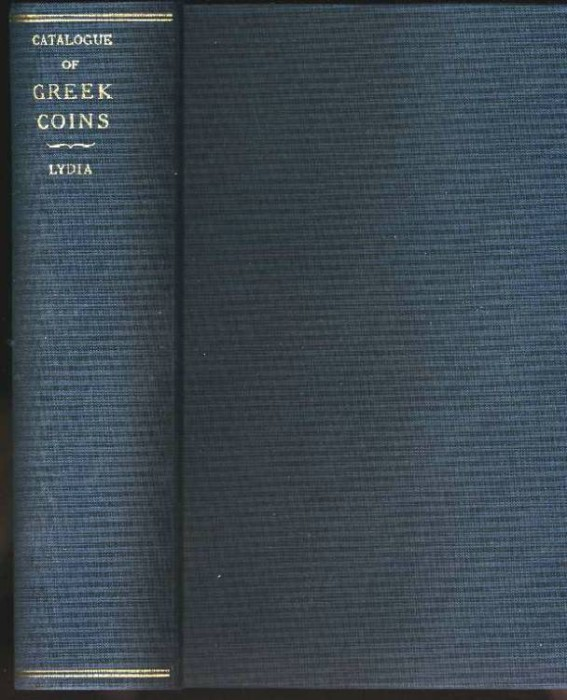 Ancient Coins - BRITISH MUSEUM CATALOGUE. GREEK COINS. LYDIA