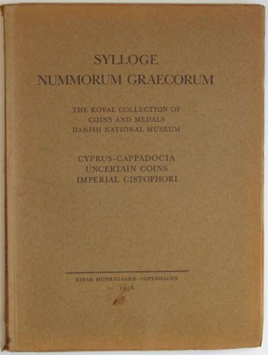 Ancient Coins - Sylloge Nummorum Graecorum Copenhagen. 34. Cyprus-Cappadocia. Uncertain Coins. Imperial Cistophori