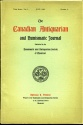 Ancient Coins - Canadian Antiquarian & Numismatic Journal 1898-1909