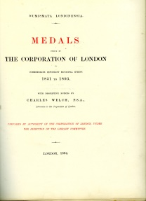 World Coins - Welch: Numismatica Londinensia. Medals of the Corporation of London