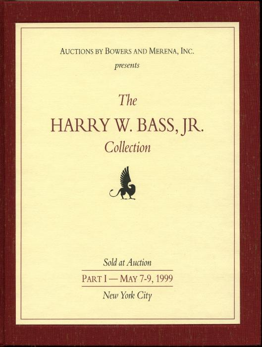 US Coins - Bowers & Merena: 4 Bass Sales, Very Limited Deluxe Hardbound Editions