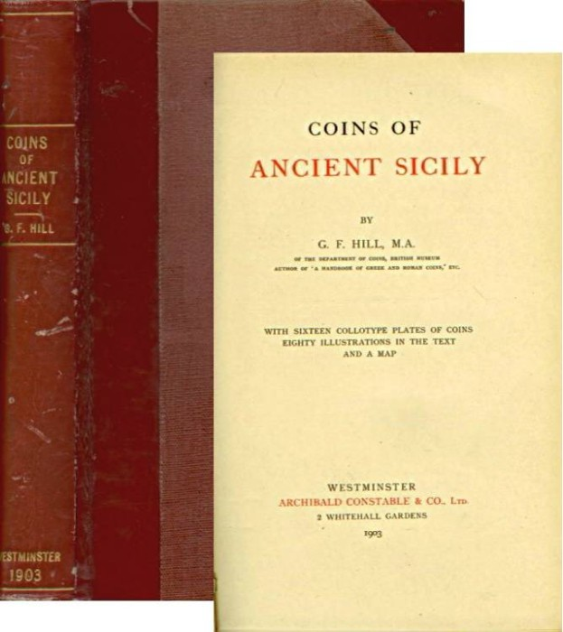 Ancient Coins - Hill: Coins of Ancient Sicily, 1903