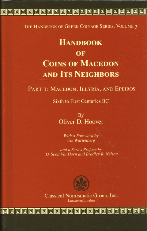 Ancient Coins - Hoover:  3. Handbook of Coins of Macedon and its Neighbors. Part 1.
