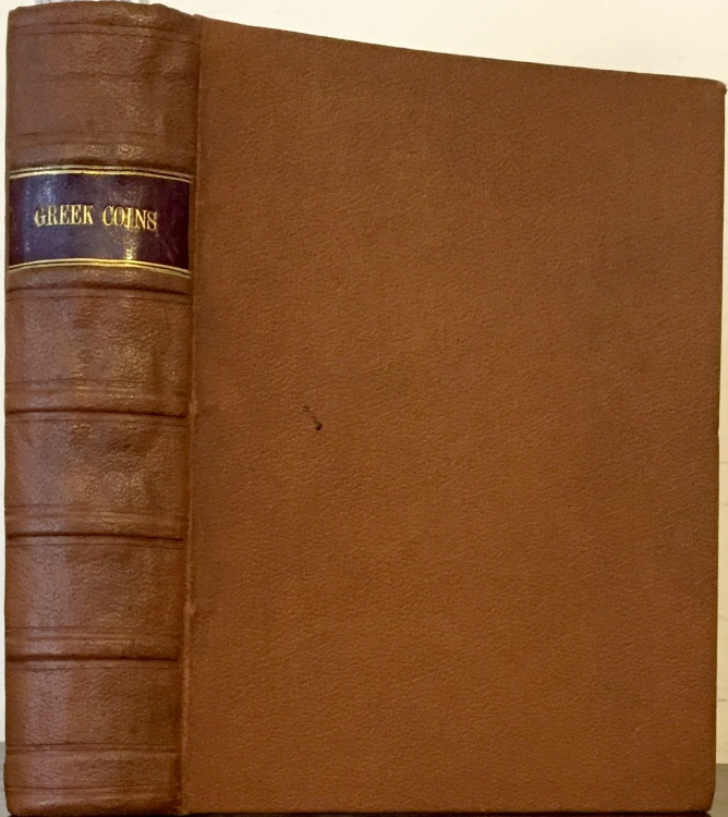 Ancient Coins - Sotheby, Wilkinson & Hodge: 10 Bound Auction Sale Catalogs featuring Greek Coins