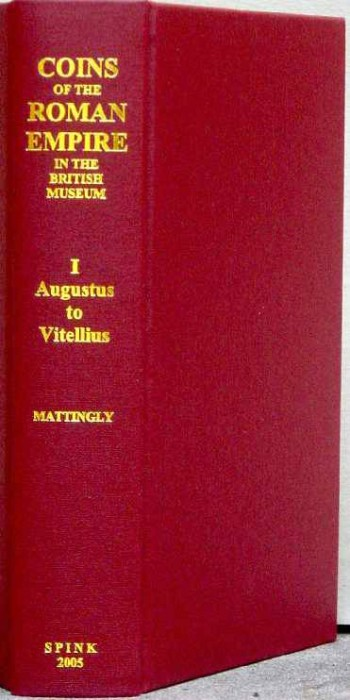 Ancient Coins - Mattingly: Coins of the Roman Empire in the British Museum Volume 1