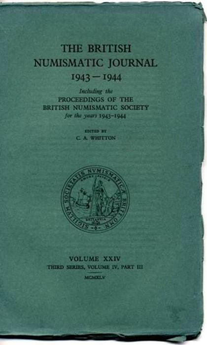 Ancient Coins - British Numismatic Journal 1943-1944