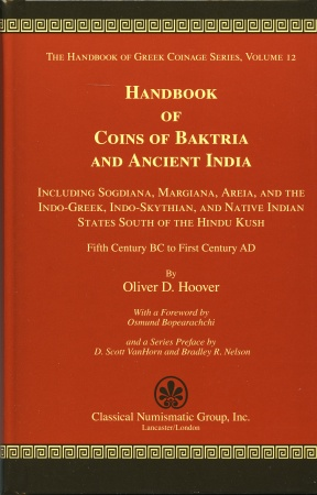 Ancient Coins - Hoover: 12. Handbook of Coins of Baktria and Ancient India