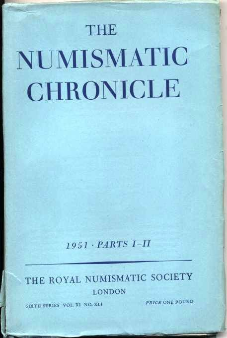 Ancient Coins - Numismatic Chronicle 1951