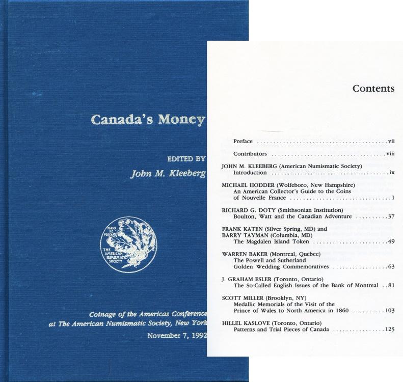 World Coins - A.N.S. C.O.A.C.  8. Canada's Money