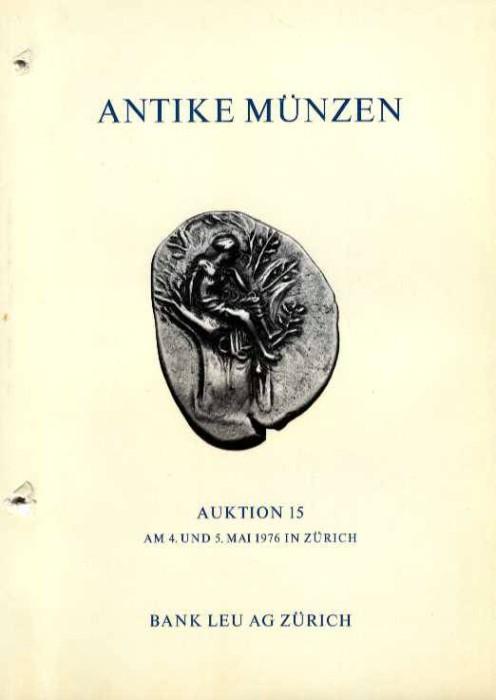 Ancient Coins - Bank Leu 15. ANTIKE MUNZEN. Griechen, SpatRomer, Byzantiner