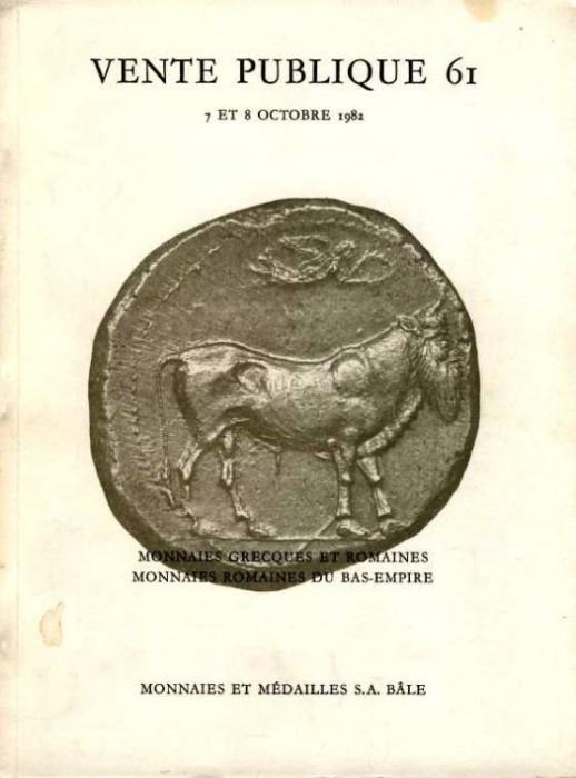 Ancient Coins - Monnaies et Medailles Auction 61. Monnaies Grecques et Romaines