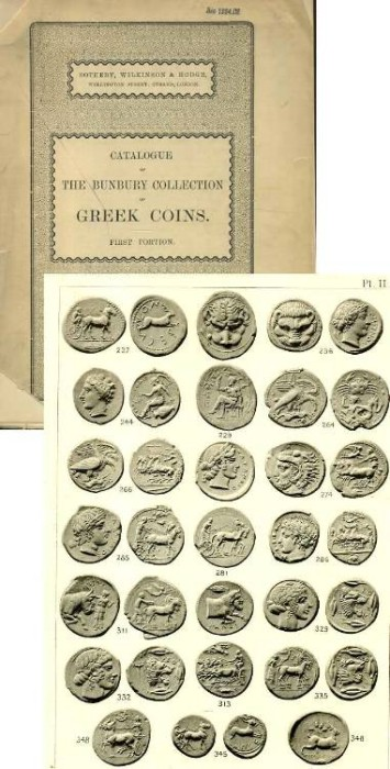 Ancient Coins - Sotheby's The Bunbuy Collection of Greek Coins, 1896