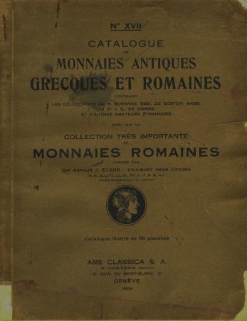 Ancient Coins - Ars Classica XVII. Monnaies Antiques Grecques et Romaines