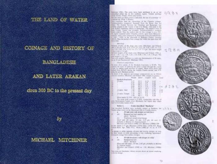 World Coins - Mitchiner: Coinage and History of Bangladesh and Later Arakan, Circa 300 BC to the Present Day