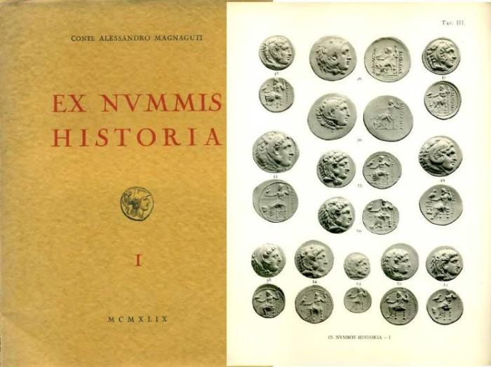 Ancient Coins - Santamaria: Conte Alessandro Magnaguti: Ex Nvmmis Historia I. Monete Greche
