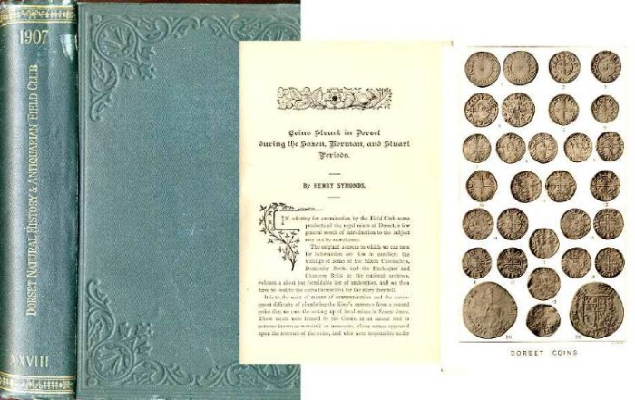 Ancient Coins - COINS STRUCK IN DORSET DURING THE SAXON, NORMAN AND STUART PERIODS